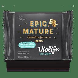 Violife Epic Mature sabor Cheddar en bloque (200g)