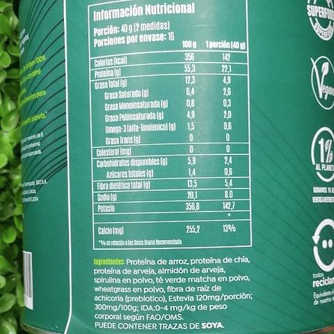 Proteina en Polvo Brota - Green Energy