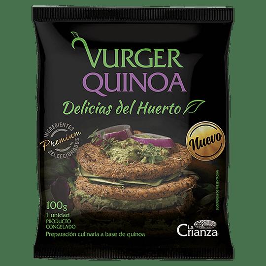 Vurger de Quinoa La Crianza
