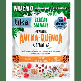 Tika Cereal Salvaje Grande: Avena - Quinoa & Semillas 200g