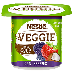 Yogurt Veggie Coco Berries