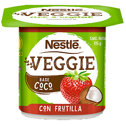 Yogurt Veggie Coco Frutilla