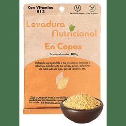 Levadura Nutricional en Copos (100g) - Dulzura Natural