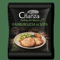Hamburguesa de Soya - La Crianza (100g)