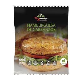 Hamburguesa de Garbanzos - Vegmonkey