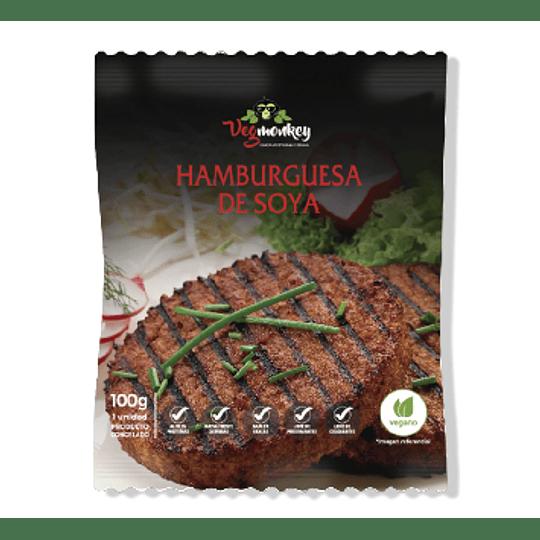 Hamburguesa de Soya - Vegmonkey