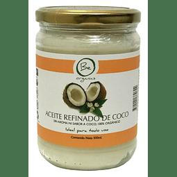 Aceite refinado de Coco Sin Aroma ni Sabor 500g- Be Organics
