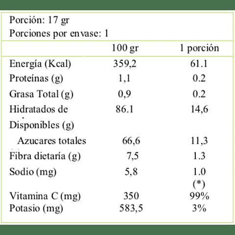 Láminas de Frutas Deshidratadas: Manzana y Frutilla - Kadosh