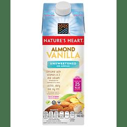 Bebida de Almendras y Vainilla Sin Azúcar 946ml - Nature's Heart