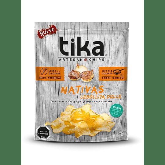 Chips Tika Nativas 180g - Cebollita Dulce
