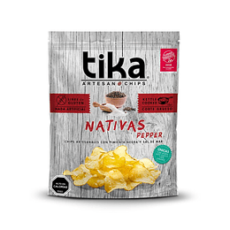 Chips Tika Nativas 180g - Pepper