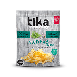 Chips Tika Nativas 180g - Pesto