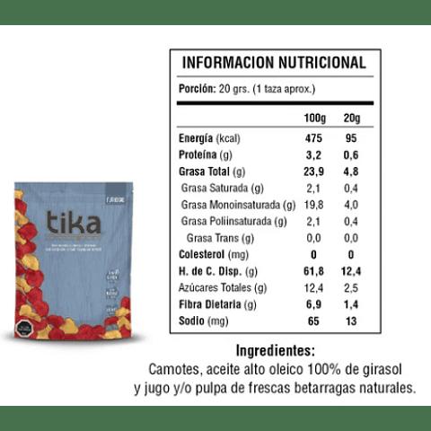 Tika Chips Furiosas 212g