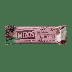Barrita Natural Cacao Coco - Mizos