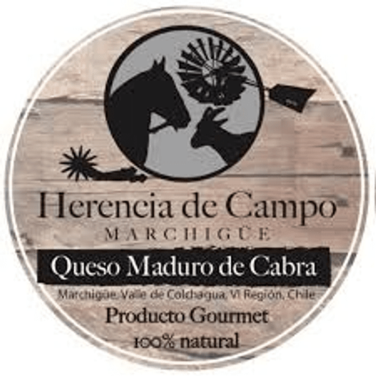Queso de Cabra Maduro 1kg apróx. - Herencia de Campo