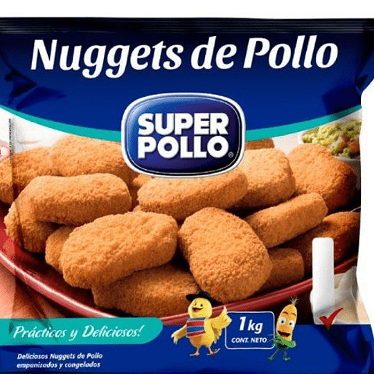 Nuggets de Pollo 1kg - Super Pollo