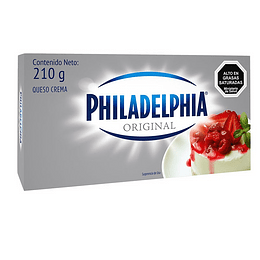 Queso Crema Original 210g - Philadelphia
