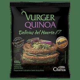 Hamburguesa de Quinoa - La Crianza
