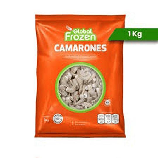 Camarones con Cáscara Calibre 36/40 1kg - Global Frozen