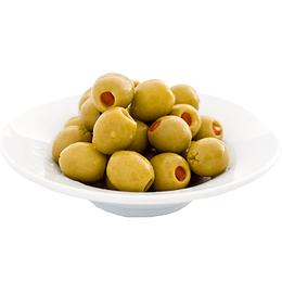 Aceitunas Verdes Rellenas con Pimentón 500g