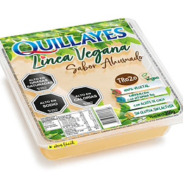 Queso Vegetal Ahumado en Bloque 200g - Quillayes