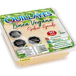 Queso Vegetal Gouda Laminado 200g - Quillayes