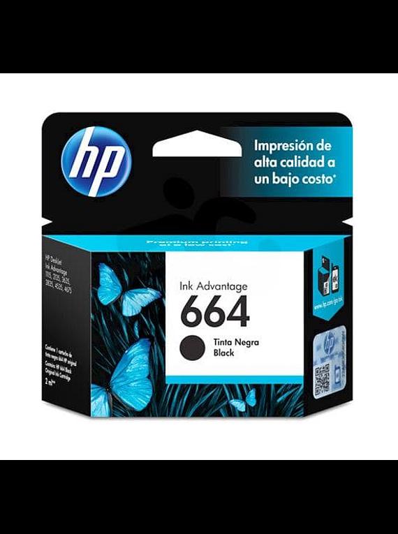 HP 664 BLACK   Tinta Original