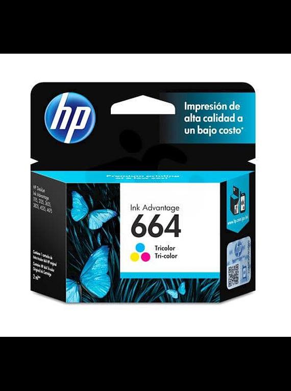 HP 664 TRICOLOR Tinta Original