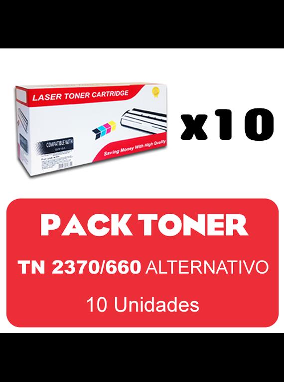 BROTHER TN2370/660 X 10 Pack Alternativo