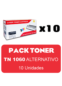 BROTHER TN1060  X 10 Pack Alternativo