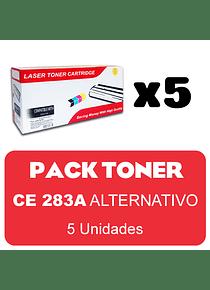 HP283A X 5 Pack Alternativo