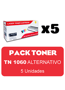 BROTHER TN1060 X 5 Pack Alternativo