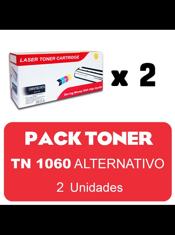 BROTHER TN 1060 PACK X 2 Alternativo