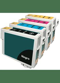 EPSON TO63 PACK X 4 Cartridges Alternativos