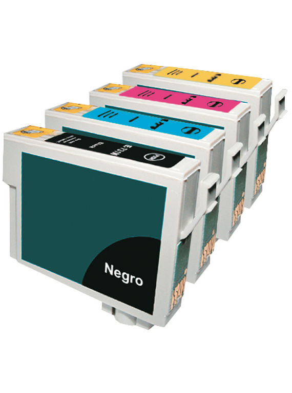 EPSON TO90 PACK X 4 Cartridges Alternativos