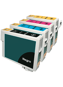 EPSON TO117 PACK X 4 Cartridges Alternativos