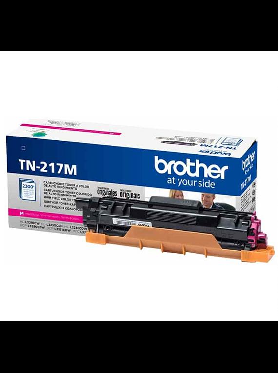 BROTHER TN-217 MAGENTA | ALTO RENDIMIENTO | Toner Original