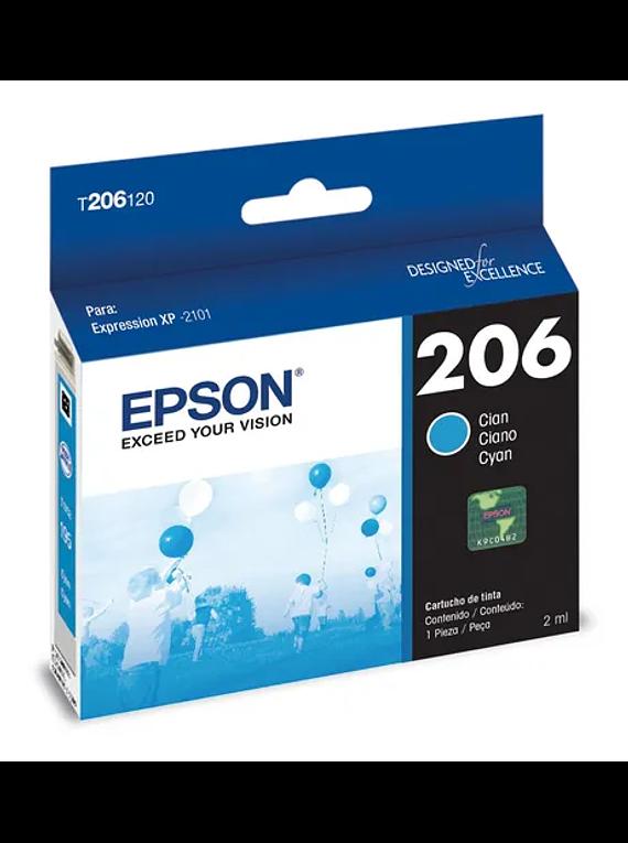 EPSON 206 Cyan XPRESSION XP-2101 Original