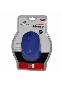 Mouse Optico Inalambrico ULTRA AZUL