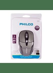 Mouse Optico Inalambrico PHILCO SILVER