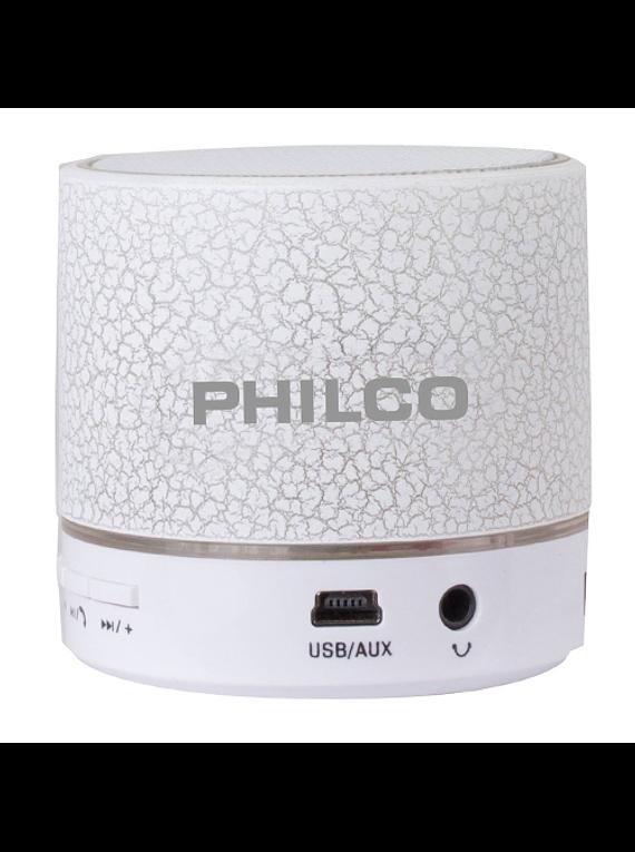 Parlante BLUETOOTH-USB LED 325 BLANCO