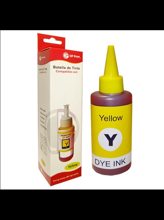 HP Serie GT  Yellow Tinta Botella Alternativa