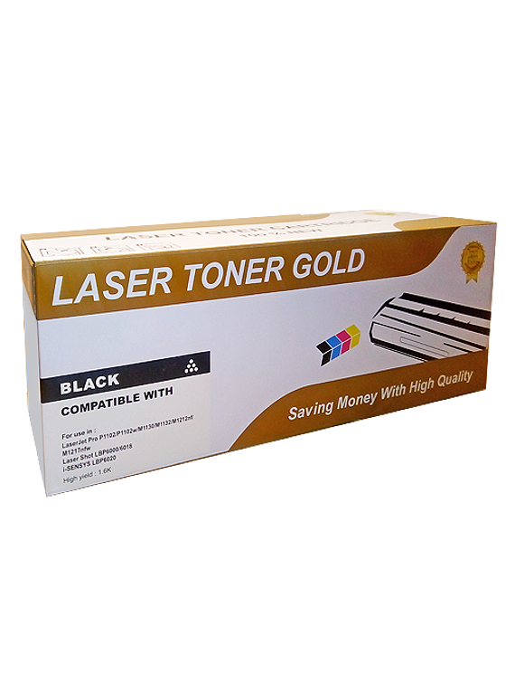HP CE412Y YELLOW | Toner Alternativo Gold