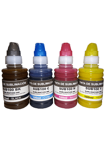EPSON Tinta Sublimacion PACK X 4 Botellas 100 ml.