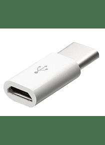 Adaptador Micro USB Hembra a USB-C Macho