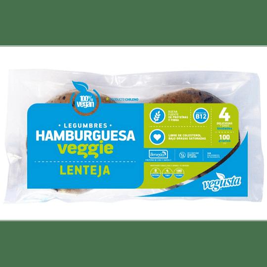 Hamburguesas de Lentejas - Vegusta (4 unidades)