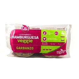 Hamburguesas de Garbanzos - Vegusta (4 unidades)