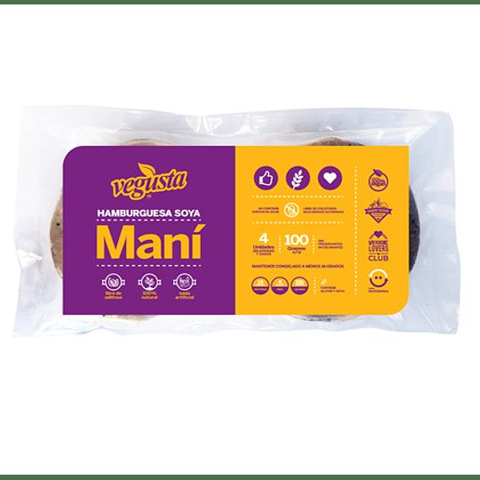 Hamburguesas de Soya-Maní - Vegusta (4 unidades)