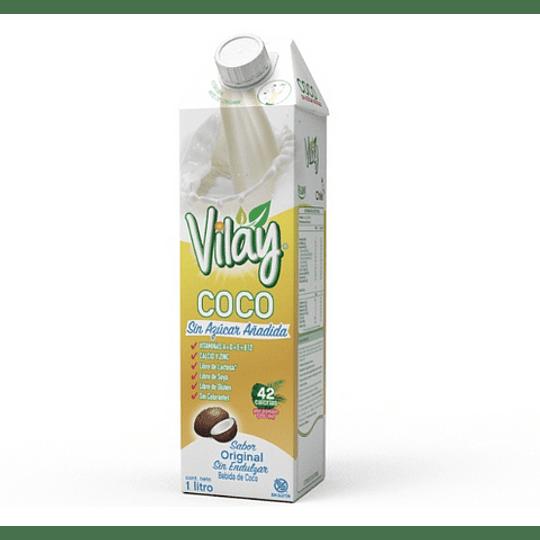 Bebida Vegetal Vilay Coco Sin Azucar 1L