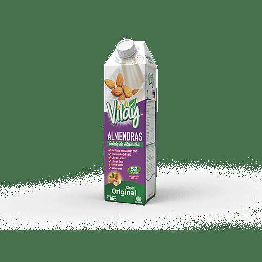 Bebida Vegetal Vilay Almendras Original 1L